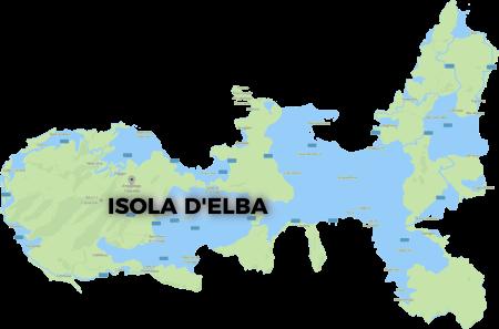 cartina isola d'elba