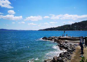 il moletto spiaggia porto santo stefano